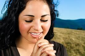 praying happy