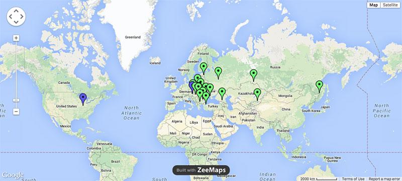 TCM-Map